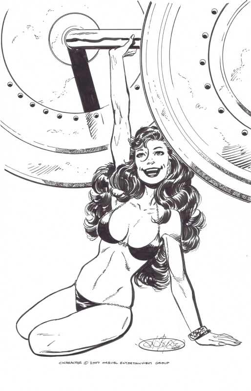 She-Hulk by John Byrne Comic Art